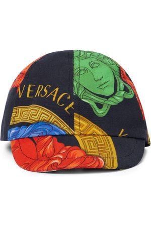 Versace Kids Casquette Medusa imprimée en coton