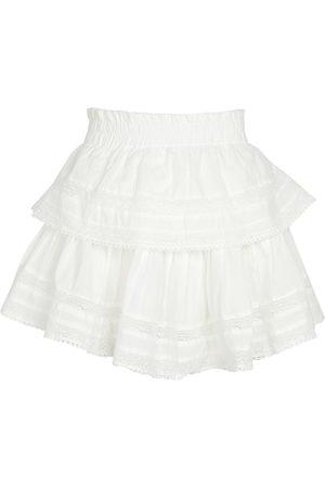 LOVESHACKFANCY Mini-jupe en coton