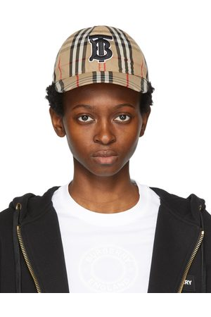 Burberry Casquette de base-ball beige Vintage Check Monogram