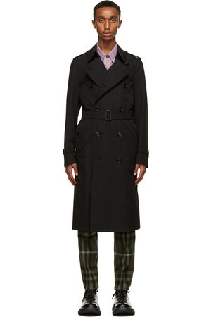 Burberry Trench long noir Chelsea Heritage