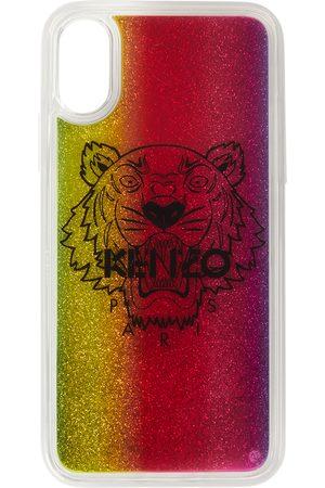 Kenzo Étui pour iPhone X/XS multicolore Glitter Tiger