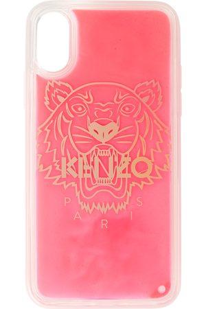 Kenzo Étui pour iPhone XS Max rouge Glitter Tiger