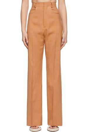 Jacquemus Pantalon orange 'Le Pantalon Sauge
