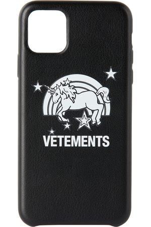 Vetements Étui pour iPhone 11 Pro Max noir Unicorn