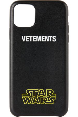 Vetements Étui pour iPhone 11 Pro Max à logo noir édition Star Wars