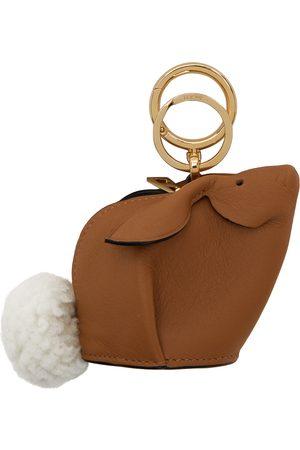 Loewe Porte-clés brun clair Bunny Charm