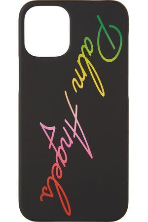 Palm Angels Étui pour iPhone 12 Mini Miami noir à logo