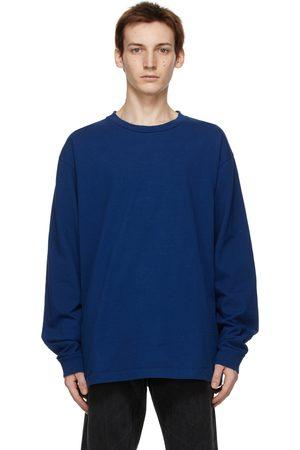 JOHN ELLIOTT T-shirt à manches longues bleu University