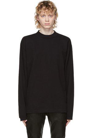 JOHN ELLIOTT T-shirt à manches longues et col cheminée noir 900