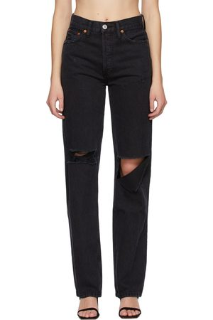 RE/DONE Jean noir 90s High-Rise Loose