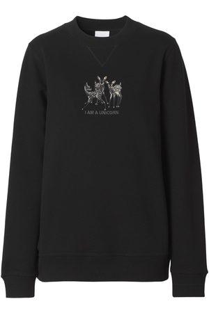 """Burberry Femme Sweatshirts - Sweat-shirt En Jersey Imprimé """"berkley"""""""