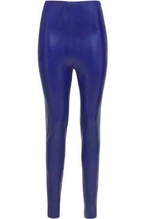 Saint Laurent Legging Skinny Stretch Taille Haute