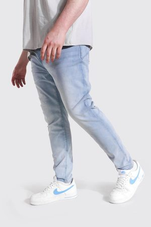 Boohoo Homme Skinny - Plus Size Stretch Skinny Fit Jean Homme