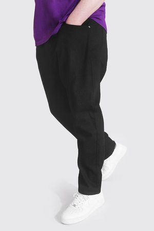 Boohoo Plus Size Slim Fit Rigid Jean Homme