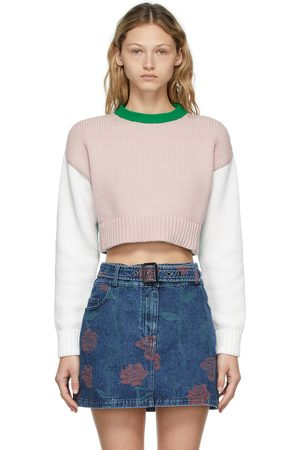 Opening Ceremony Femme Pulls - Pull Combo Warped multicolore à logo