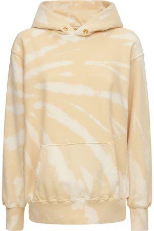 Les Tien Femme Sweatshirts - Sweat-shirt Court En Coton À Capuche