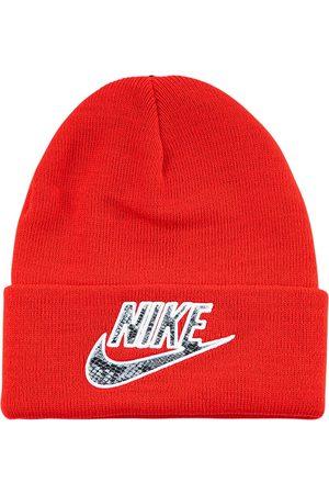 Supreme Bonnets - X Nike bonnet à effet peau de serpent