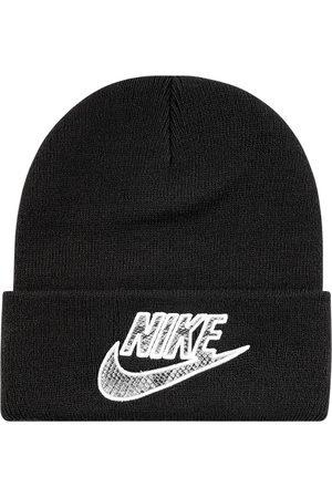 Supreme X Nike bonnet à effet peau de serpent