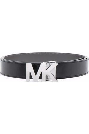 Michael Kors Ceinture en cuir à plaque logo