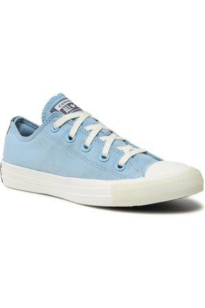 Converse Femme Baskets - Baskets - Ctas Ox 570306C Sea Salt Blue/Light Carbon