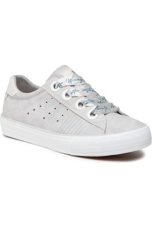 Wrangler Femme Baskets - Tennis - Clay WL11560A Silver 004
