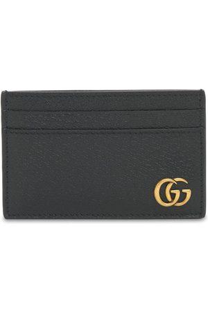 "Gucci Porte-cartes En Cuir ""gg Marmont"""