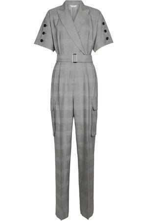 Max Mara Combi-pantalon Bari à carreaux en laine vierge