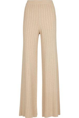 JONATHAN SIMKHAI Pantalon Colbie ample en lin mélangé