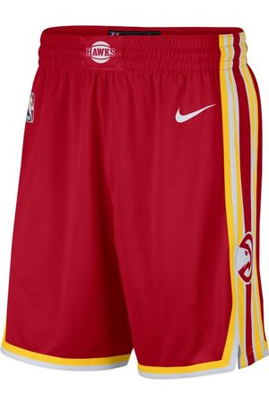 Nike Homme Shorts - Short NBA Swingman Hawks Icon Edition 2020 pour Homme