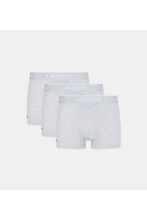 Lacoste Lot de 3 boxers siglés coton mélangé