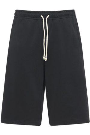 GUCCI Homme Shorts - Short En Jersey Technique Avec Bandes Latérales