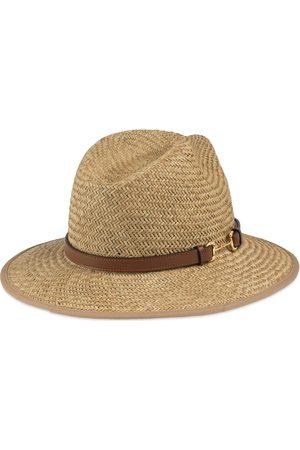 Gucci Homme Chapeaux - Chapeau de paille avec Mors