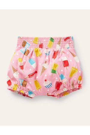 Boden Mode Baby Bébé Shorts - Short imprimé en jersey PNK Bébé Boden