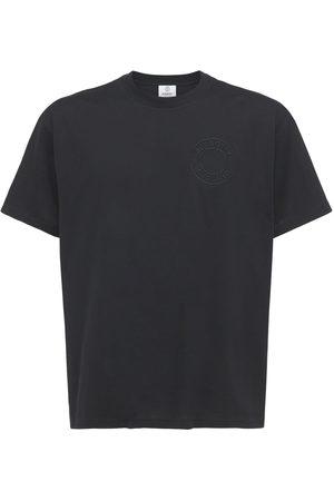 Burberry Homme T-shirts - T-shirt En Jersey De Coton Biologique Avec Logo