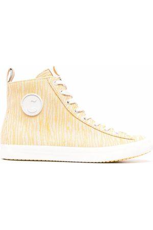 Camper Femme Baskets - Zebra-print high-top sneakers