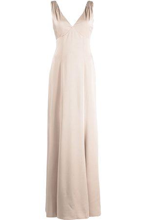 Marchesa Notte Femme Robes de soirée - Forli V-neck bridesmaid gown