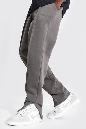 Boohoo Homme Pantalons larges - Loose Fit Man Official Split Hem Joggers Homme