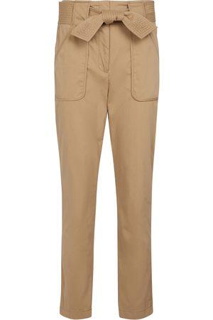 VERONICA BEARD Pantalon slim Mahary en coton mélangé