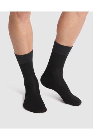 Dim Lot de 2 paires de mi-chaussettes soft touch