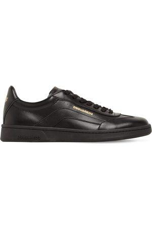 "Dsquared2 Sneakers Basses En Cuir ""boxer 551"""