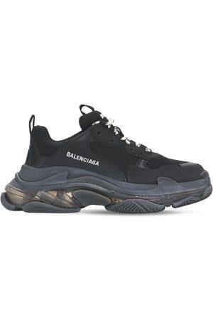 "Balenciaga Femme Baskets - Sneakers ""triple S Clear"" 60 Mm"