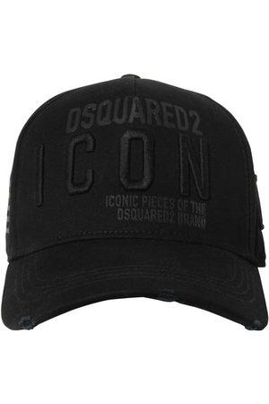 """Dsquared2 Casquette En Gabardine De Coton """"icon"""""""