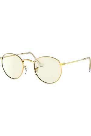 Ray-Ban Round Clear Evolve With Blue-light Filter en , Lenses Gris - RB3447