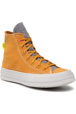 Converse Sneakers - Chuck 70 Hi 168615C Saffron Yellow/Lemon Venom