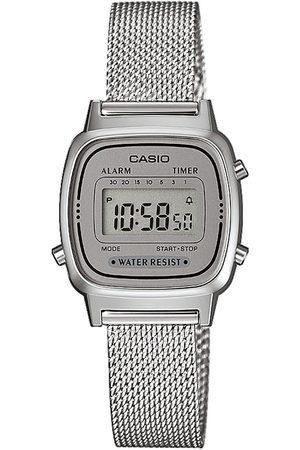 Casio Montre - Vintage LA670WEM-7EF Silver/Silver