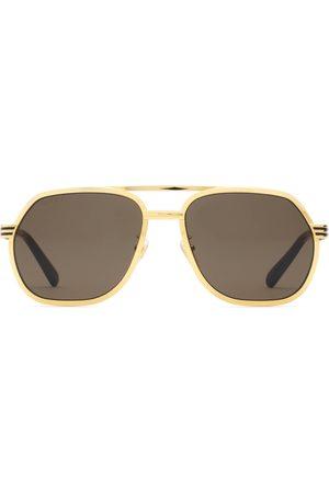Gucci Homme Lunettes de soleil - Lunettes de soleil à monture navigateur
