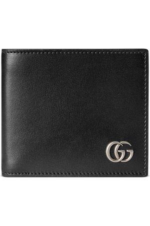 Gucci Homme Portefeuilles - Portefeuille à rabat en cuir GG Marmont