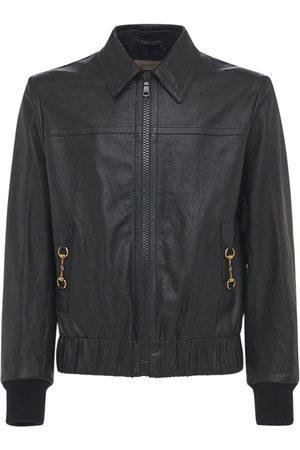 Gucci Homme Vestes en cuir - Veste Bomber En Cuir