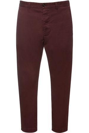 Dsquared2 Pantalon En Sergé De Coton Stretch Hockney