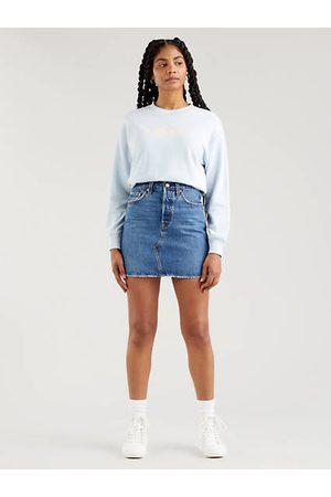 Levi's Femme Jupes - High Rise Deconstructed Iconic Skirt Indigo foncé / Troy Tricks